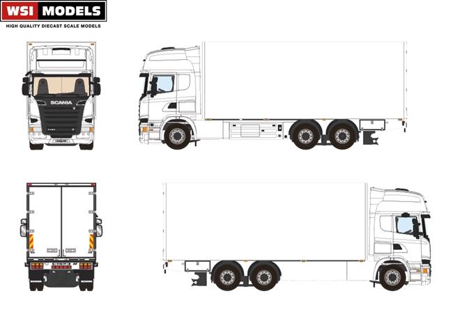 scania r streamline 6 215 2 basis transportmodels
